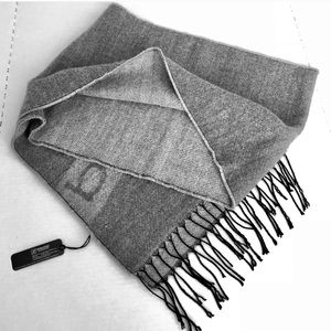 bebe Grey Fringed Scarf • super soft